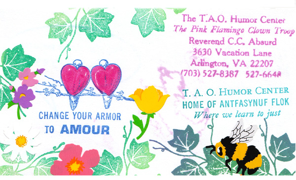 Business cards tao humor center amour colourmoves