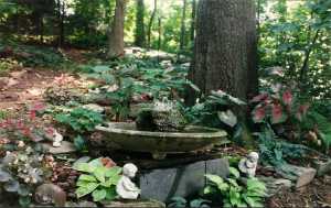 Central Fountain, Sacred Waters