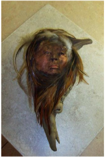 Wood Carving  by Nancy Morehead