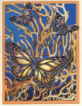 card butterfly