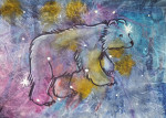 img of painting Sky Bear