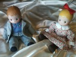2 baby dolls