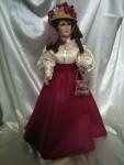 Scarlet - Clay sculpture dolls